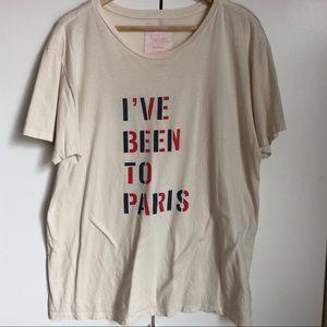 Ban.Do I've Been to Paris T-shirt XXL